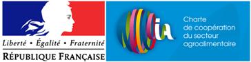 Logo charte de coopération du secteur agroalimentaire
